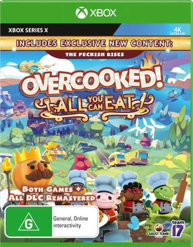 Overcooked All You Can EatThis delicious definitive edition features:Over 200 levels of culinary...