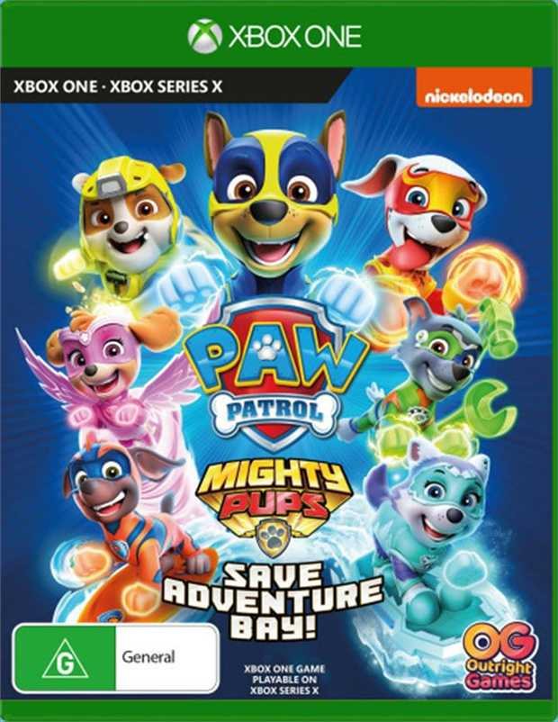 Paw Patrol Mighty Pups Save Adventure BayThe most pawsome adventure game!When their latest scheme goes...