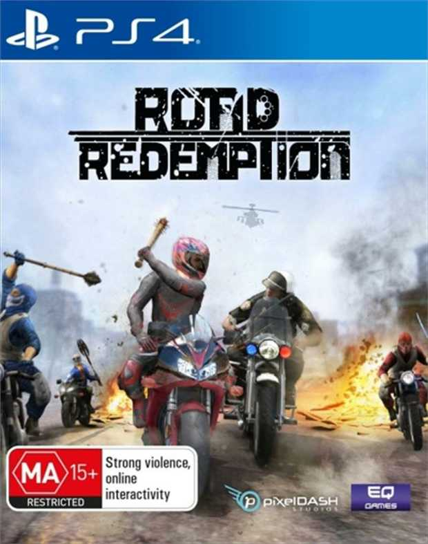 Road RedemptionLead your motorcycle gang on an epic journey across the country in this driving combat...