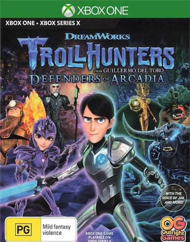 Trollhunters Defenders of ArcadiaJump into the world of Trollhunters as Jim Lake Jr. to stop Porgon the...