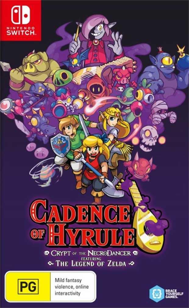 Cadence of Hyrule Crypt of the NecrodancerIn the latest rhythmic action-adventure from Brace Yourself...