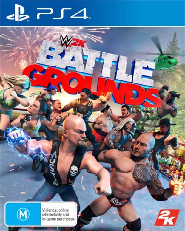 WWE 2K BattlegroundsWant to reek of awesomeness when you brawl with your friends in WWE 2K...