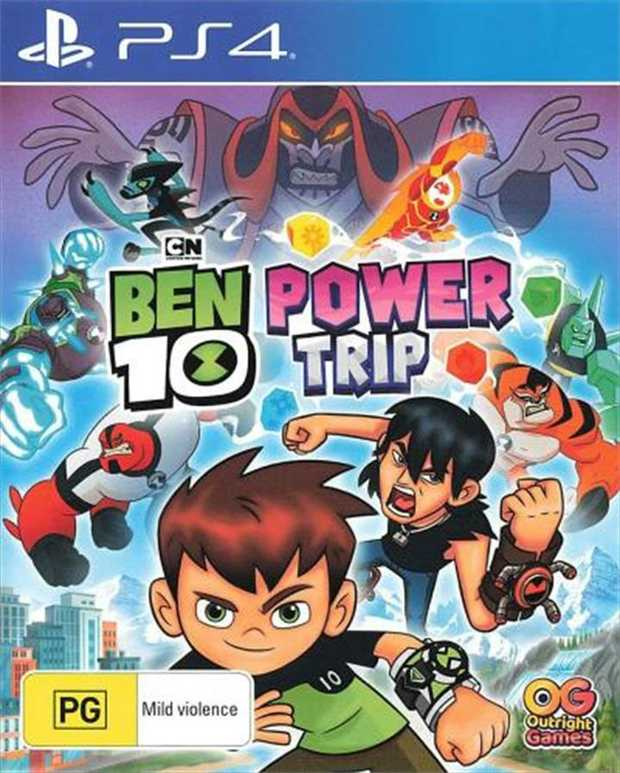 Ben 10 Power TripBen and his family are enjoying their European vacation... until evil magician Hex...