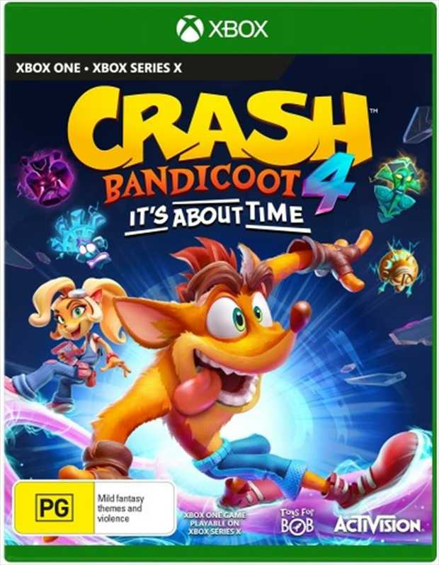 Crash Bandicoot 4 Its About TimeIt's About Time - for a brand-wumping new Crash Bandicoot game!