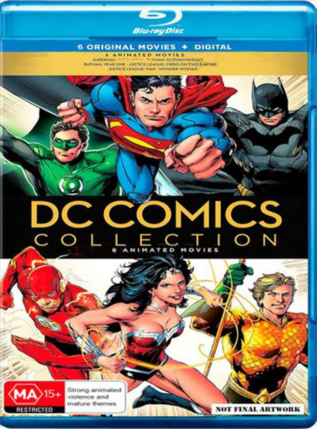 Contains:1. Justice League - Dark2. Justice League - New Frontier3. Justice League - Dark Apokolips4.