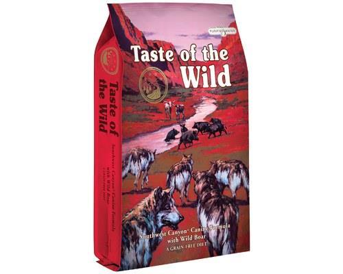 TASTE OF THE WILD SOUTHWEST CANYON CANINE 6KGTreat your dog to a Taste of the Wild!Southwest Canyon mix...