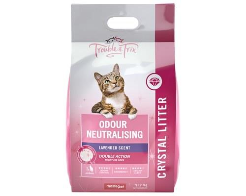 Trouble and Trix Angel Litter, Silica Cat Litter, 7LTrouble and Trix Angel Litter is a 100% natural and...