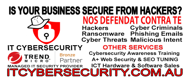 IT Cybersecurity is a family owned IT Cybersecurity consultancy firm based in Toowoomba, QLD...