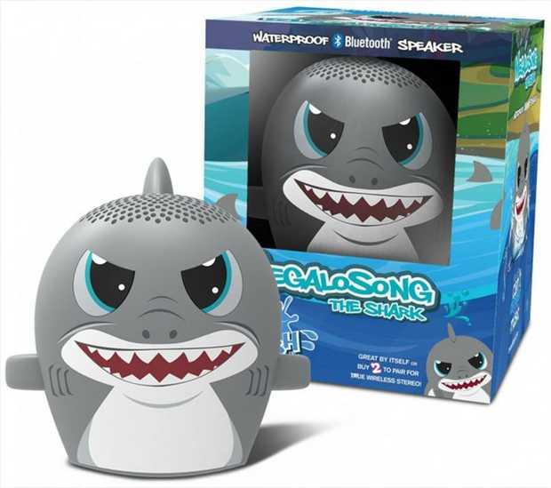 MegaloSONG: My Audio Pet Splash SHARK is a waterproof version of the cutest, most KICK BUTT Bluetooth...