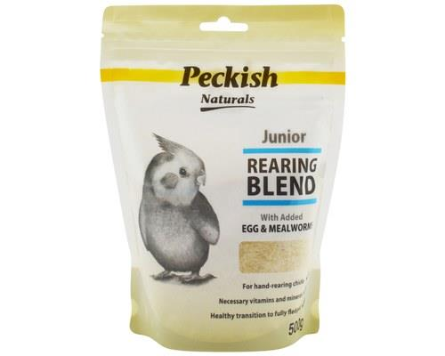 PECKISH JUNIOR REARING BLEND - EGG & MEALWORM 500GMYoung birds need extra special care. The...