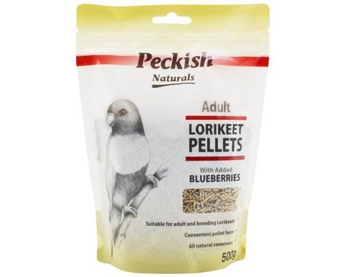 PECKISH ADULT LORIKEET PELLETS - BLUEBERRY 500GMWho doesn't love a 'bloob'? Well, your lorikeet sure...