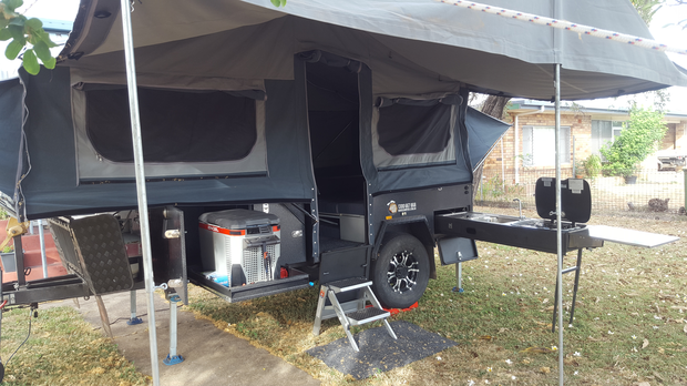 Forward fold off road camper, many extras, excellent condition, ready to go