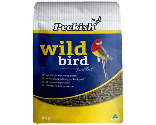 PECKISH WILD BIRD PELLET 5KGIf you want to make friends with your feathery neighbours... feed...