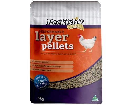 PECKISH PERFORMANCE LAYER PELLETS 5KGDo your laying hens need a bit of a tune-up?With high levels of...