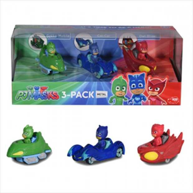 Embark on a PJ MASKS adventure into the night to save the day with this range of die-cast...