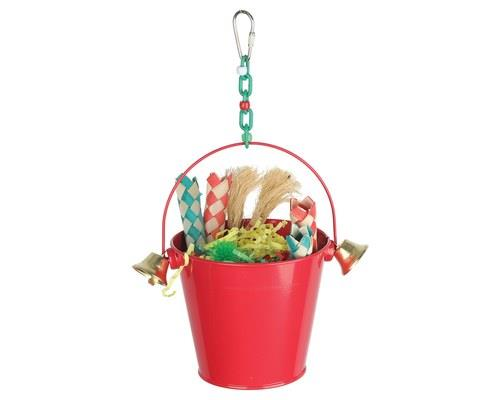KAZOO FESTIVE TOY BUCKET WITH BELLSWhile humans get stockings over the fireplace to celebrate...