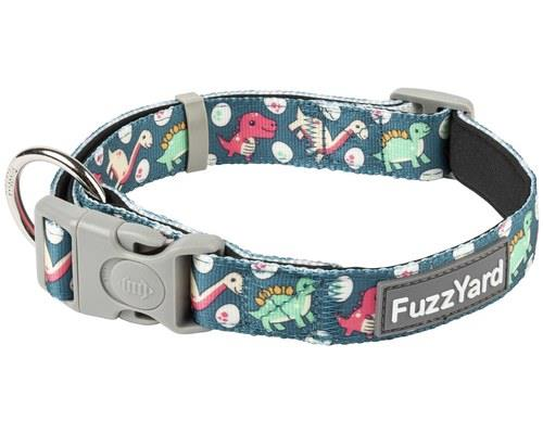 FUZZYARD DOG COLLAR DINOSAUR LAND MEDIUMI dino what to tell you, your dog is simply the best looking...