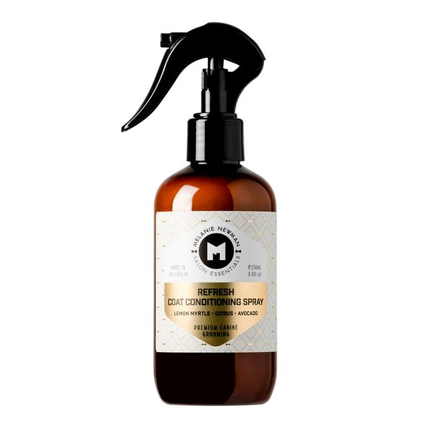 Melanie Newman Salon Essentials Refresh Coat Conditioning Spray 250ml Pet: Dog Category: Dog Supplies ...