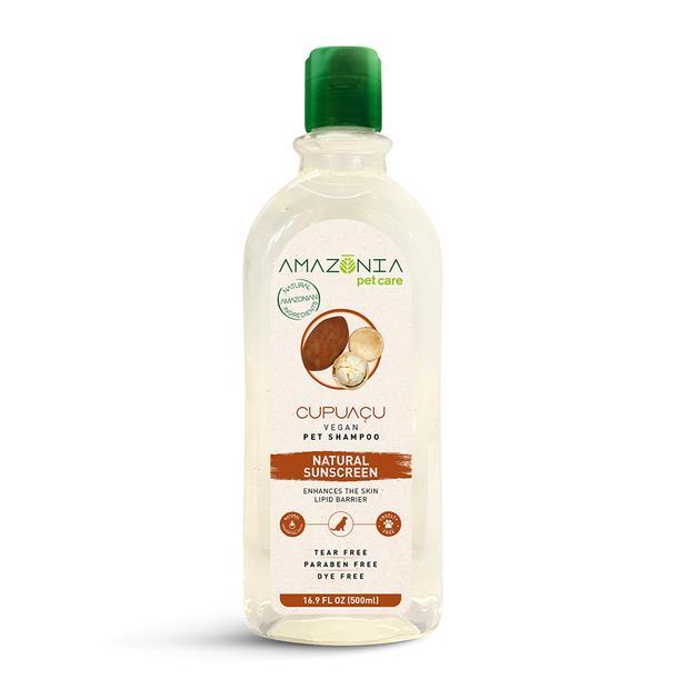 Amazonia Shampoo Cupuacu Natural Sunscreen 500ml Pet: Dog Category: Dog Supplies  Size: 0.6kg  Rich...
