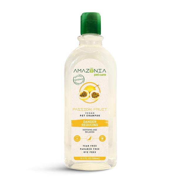 Amazonia Shampoo Passion Fruit Dander Reducing 500ml Pet: Dog Category: Dog Supplies  Size: 0.6kg  Rich...