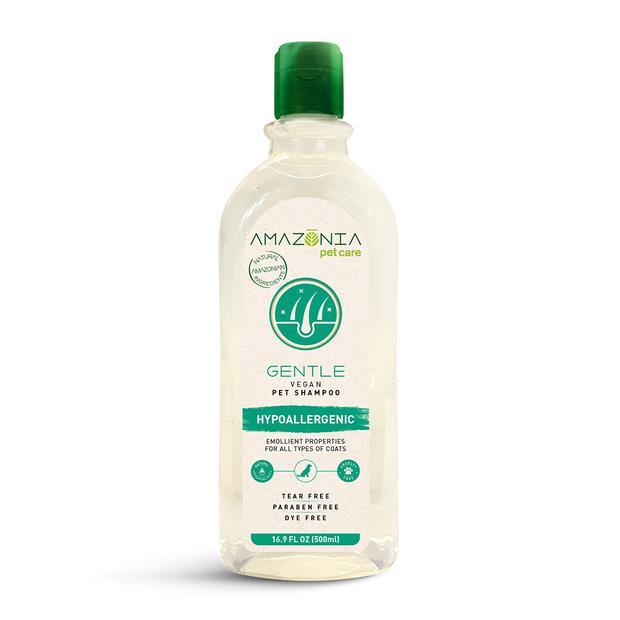 Amazonia Shampoo Gentle Hypoallergenic Vegan 500ml Pet: Dog Category: Dog Supplies  Size: 0.6kg  Rich...