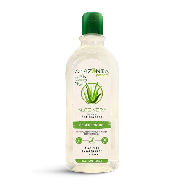 Amazonia Shampoo Aloe Vera 500ml Pet: Dog Category: Dog Supplies  Size: 0.6kg  Rich Description:...