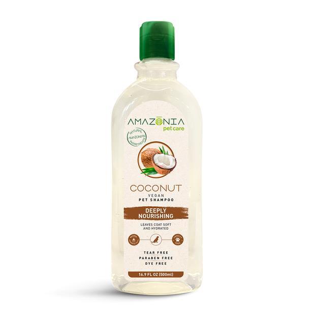 Amazonia Shampoo Coconut Hydrated Coat 500ml Pet: Dog Category: Dog Supplies  Size: 0.6kg  Rich...