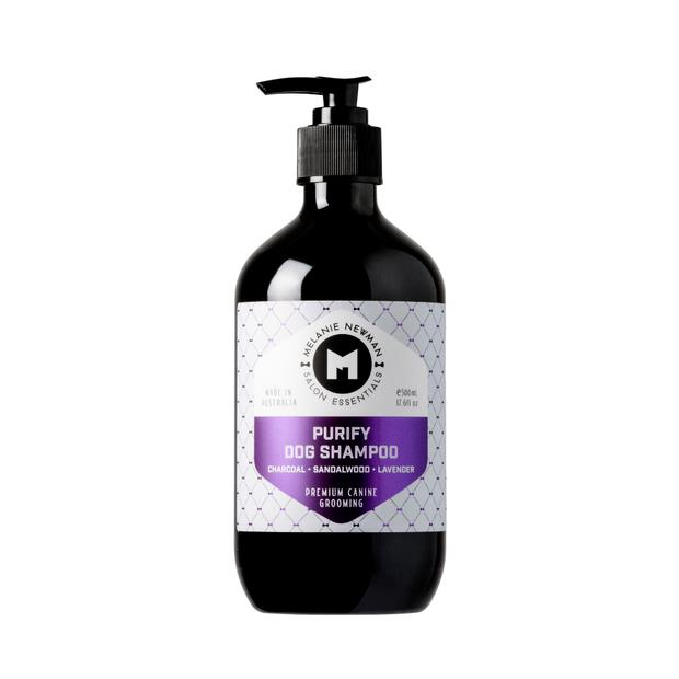 Melanie Newman Salon Essentials Purify Dog Shampoo 500ml Pet: Dog Category: Dog Supplies  Size: 0.6kg...