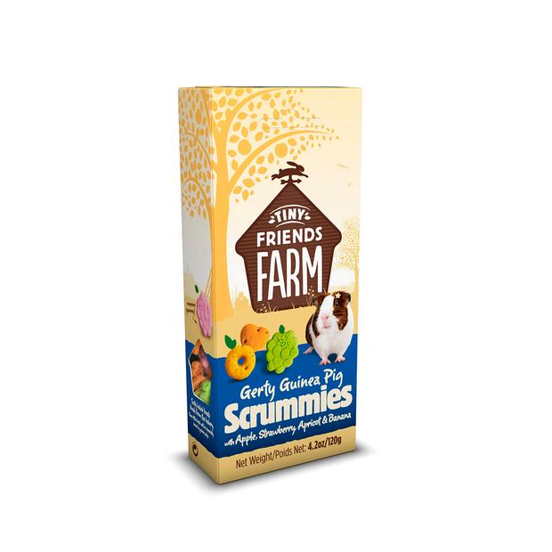 Tiny Friends Farm Gerty Guinea Pig Scrummies 120g Pet: Small Pet Category: Small Animal Supplies  Size:...