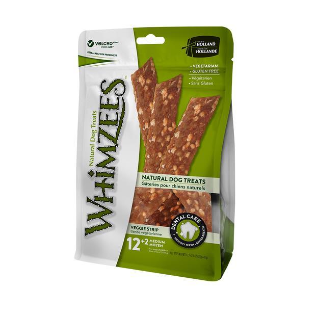 Whimzees Veggie Strip Dog Treats Each Pet: Dog Category: Dog Supplies  Size: 0.4kg  Rich Description:...
