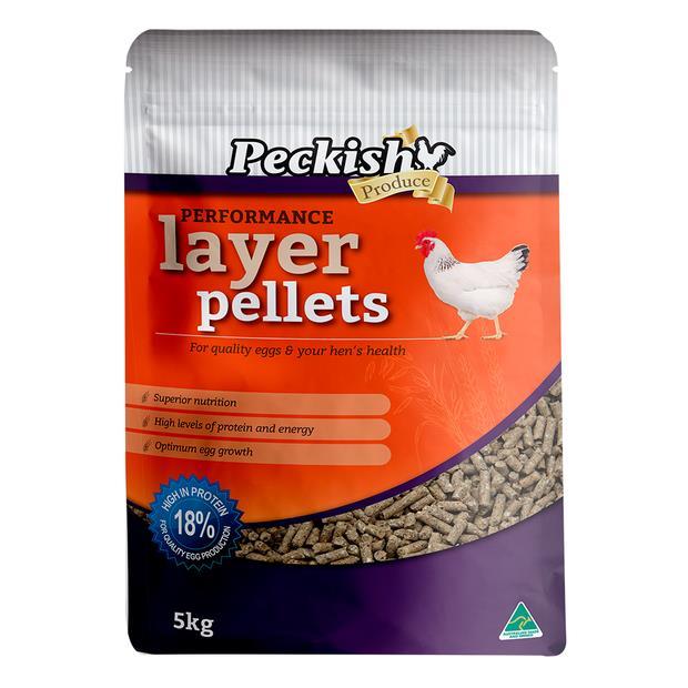 Peckish Performance Layer Pellets 5kg Pet: Bird Category: Bird Supplies  Size: 5.2kg  Rich Description:...