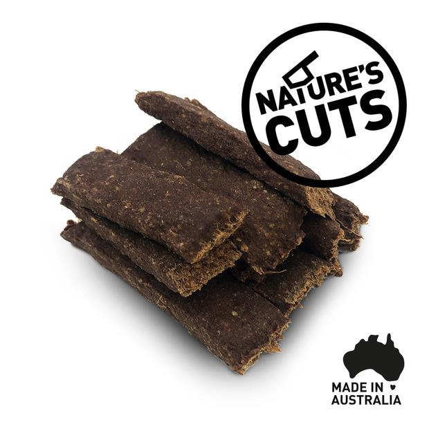 Natures Cuts Grain Free Kangaroo Bites 200g Pet: Dog Category: Dog Supplies  Size: 0.2kg  Rich...