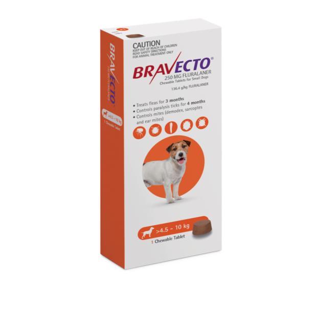 Bravecto Small Dog Orange 2 Pack Pet: Dog Category: Dog Supplies  Size: 0.4kg  Rich Description:...