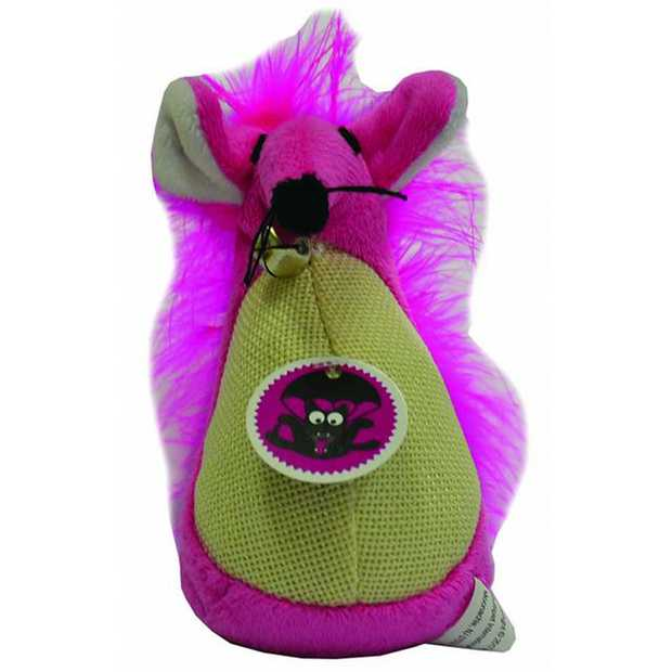 Scream Cat Toy Fatty Mouse Pink Each Pet: Cat Category: Cat Supplies  Size: 0.4kg Colour: Pink  Rich...