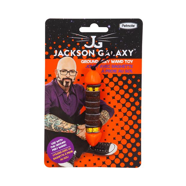 Jackson Galaxy Ground Prey Toy Each Pet: Cat Category: Cat Supplies  Size: 0.1kg  Rich Description: Use...