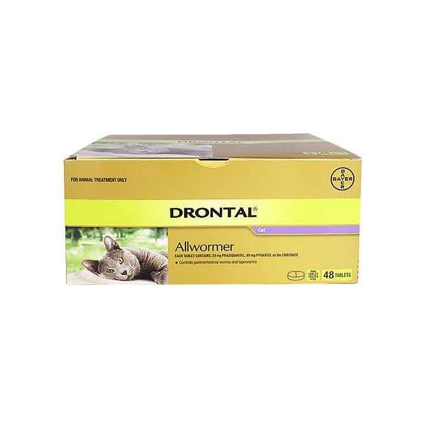 Drontal Allwormer For Large Cats 2 Pack Pet: Cat Category: Cat Supplies  Size: 0.2kg  Rich Description:...