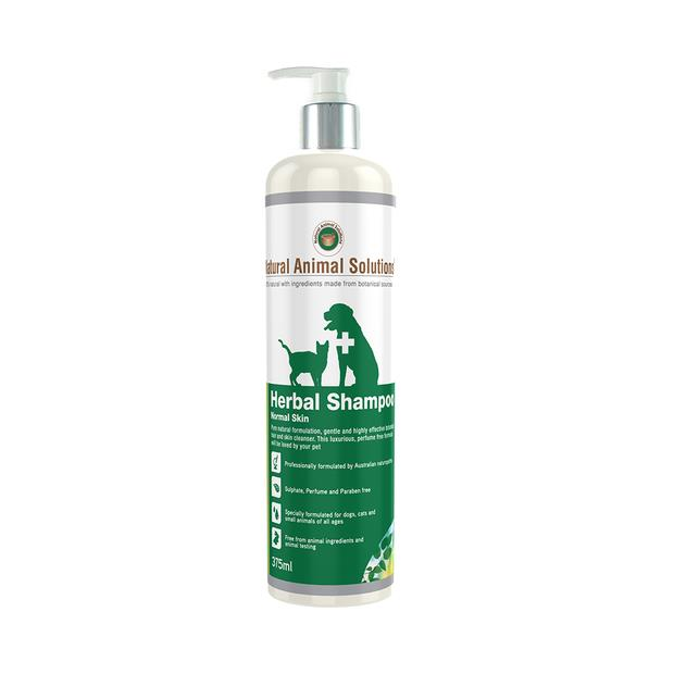 Natural Animal Solutions Herbal Normal Shampoo 375ml Pet: Dog Category: Dog Supplies  Size: 0.4kg  Rich...