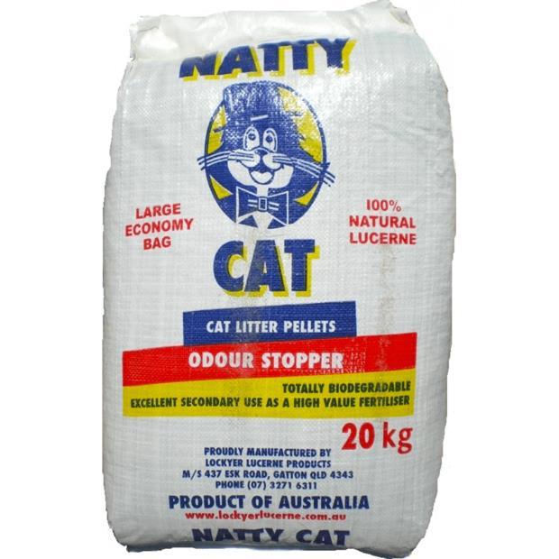 Natty Cat Litter 20kg Pet: Cat Category: Cat Supplies  Size: 20kg Material: Plant Fibre  Rich...