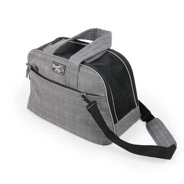 Afp Travel Dog Pet Carry Bag Each Pet: Dog Category: Dog Supplies  Size: 10.8kg Colour: Grey  Rich...