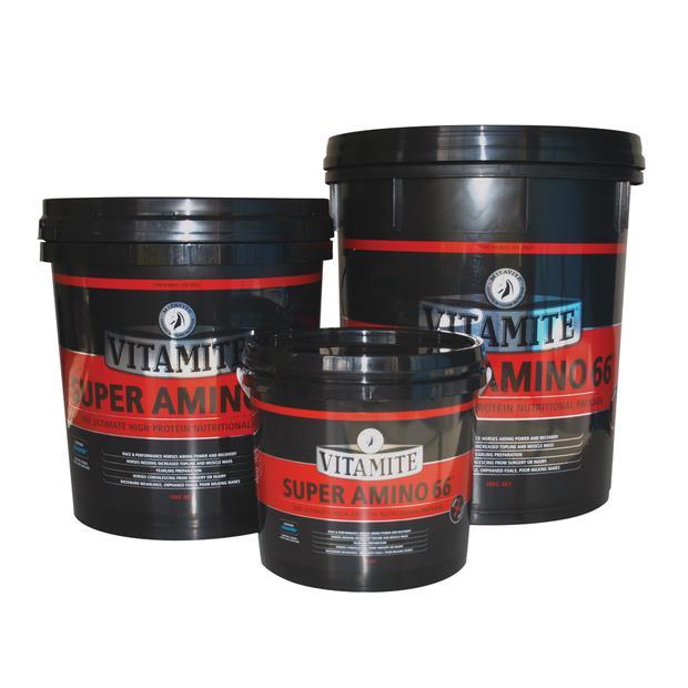 Mitavite Vitamite Super Amino 66 3kg Pet: Horse Size: 3.2kg  Rich Description: Suitable for race and...