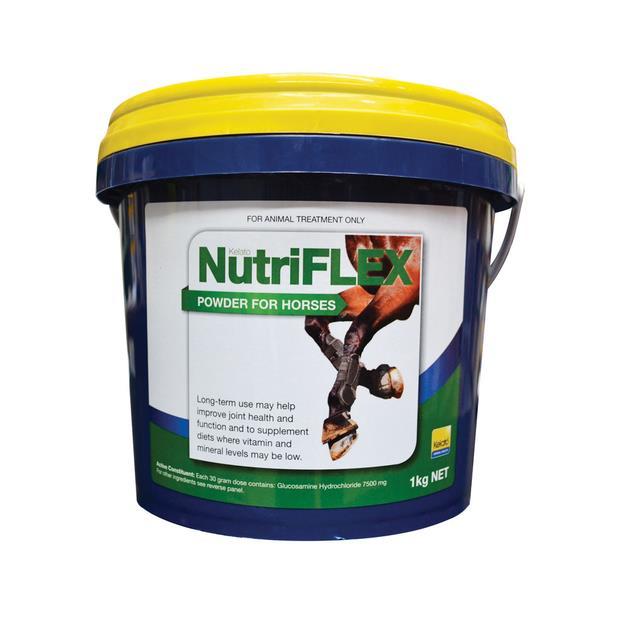 Kelato Nutriflex Joint Supplement 1kg Pet: Horse Size: 1.1kg  Rich Description: Suitable for all horses...