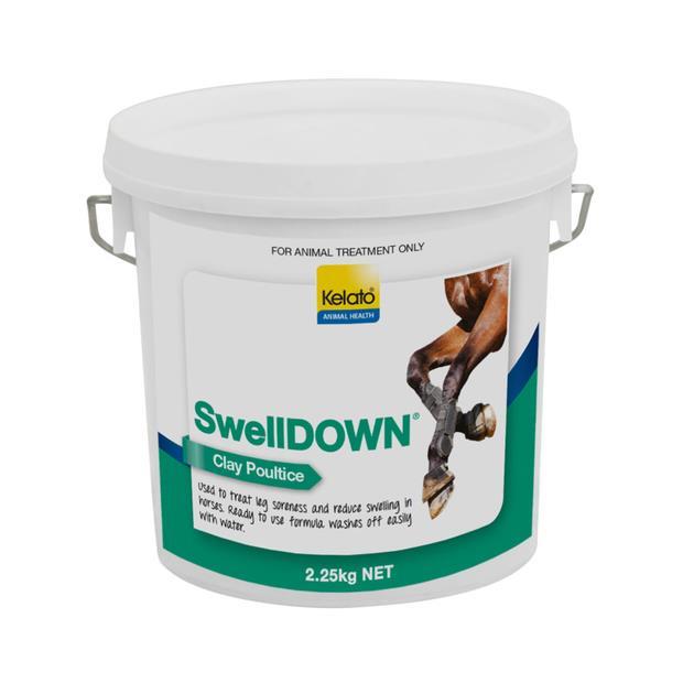 Kelato Swelldown Clay Poultice 2.25kg Pet: Horse Size: 2.5kg  Rich Description: Suitable for horses...