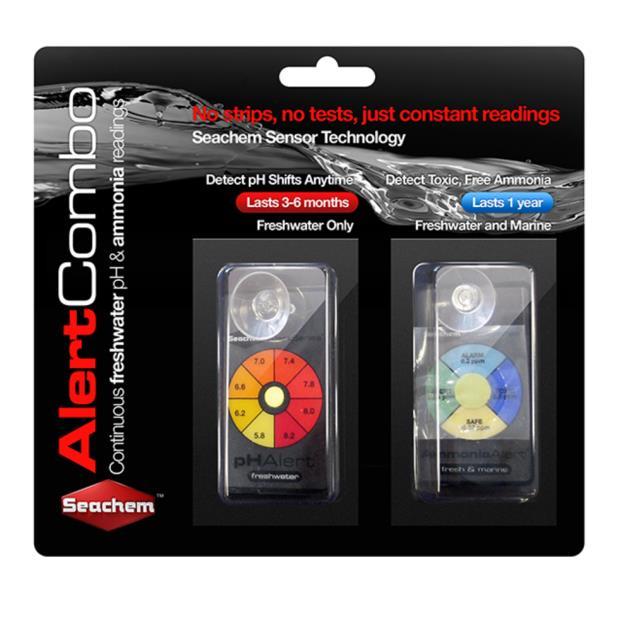 Seachem Alerts Combo Pack Each Pet: Fish Category: Fish Supplies  Size: 0kg  Rich Description: Suitable...