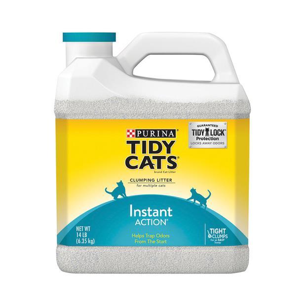Tidy Cats Instant Action Scoop Jug 2 X 6.35kg Pet: Cat Category: Cat Supplies  Size: 12.7kg  Rich...