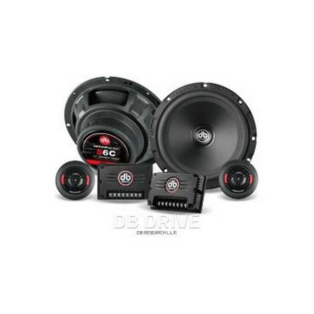 "S6C6.5"" Component Speakers / 90 Watts RMSFeatures:6.5 Component13mm Aluminum Dome TweeterHeavy Gauge..."