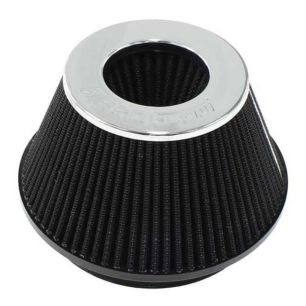 """Universal Tapered 6"""" (152mm) Clamp-On Filter 4 in (102 mm) H x 7.5 in (191 mm) Base OD x 5.125 in (130..."""