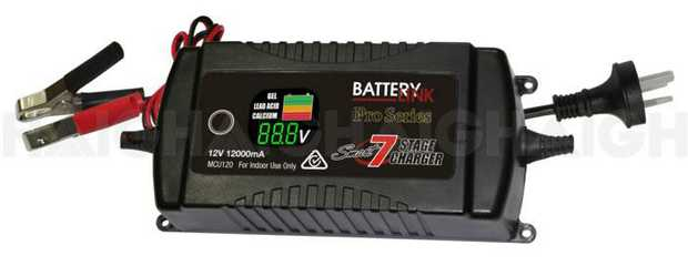 The MCU120 charger is a sophisticated 7 stage charger, utilizing switch mode and fully automatic...