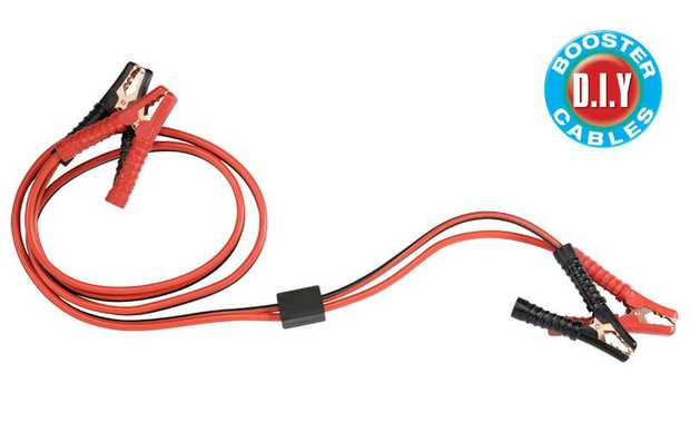 D.I.Y Booster CablesQuality booster cables suitable for 12V or 24V batteries, ideal for the D.I.Y...