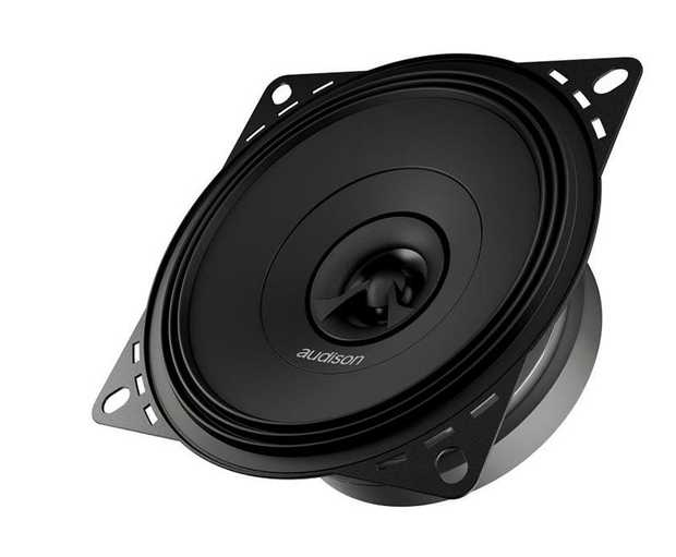 APX 4 features a concentric coaxial tweeter: with one single point of sound emission it is possible to...