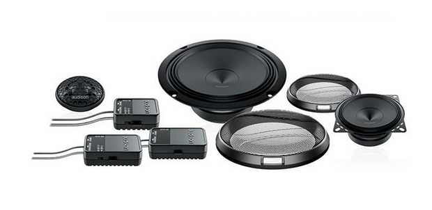 Tree way system features AP 1 tweeter, AP 4 mid-bass and AP 6.5 woofer. APK 163 system deserves special...